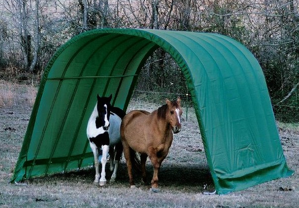 Portable Shade Shelters : Portable shelters for horses listen to your horse